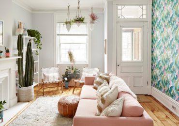 thiết kế phòng khách nhỏ đẹp phù hợp với gia chủ nữ