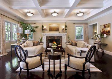 thiết kế phòng khách tân cổ điển được nhiều gia chủ lựa chọn để đầu tư