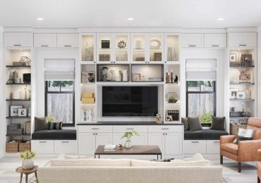 thiết kế tủ phù hợp với không gian