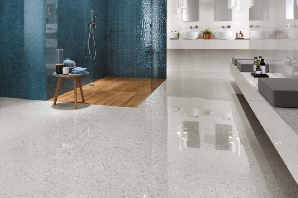 Terrazzo ngày càng được ứng dụng nhiều trong các công trình nhà ở