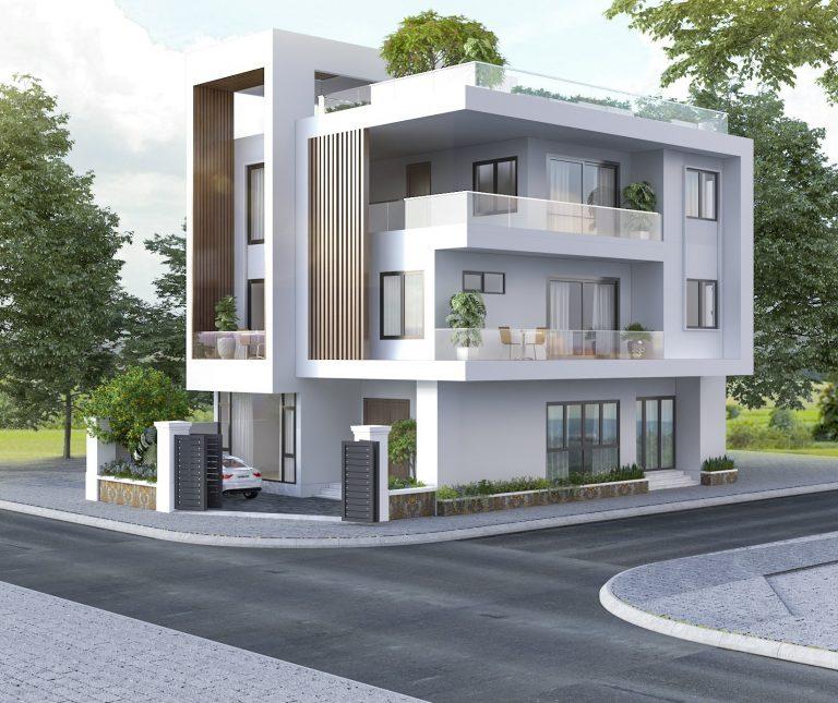 Cách phối màu tươi mới trong thiết kế biệt thự 3 tầng hiện đại đẹp