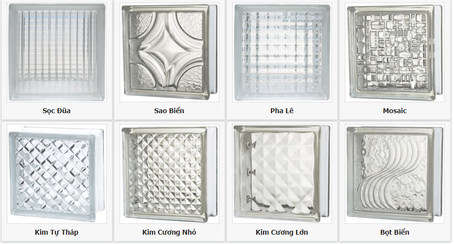 Gạch kính lấy sáng cầu thang là một loại vật liệu nội thất cao cấp