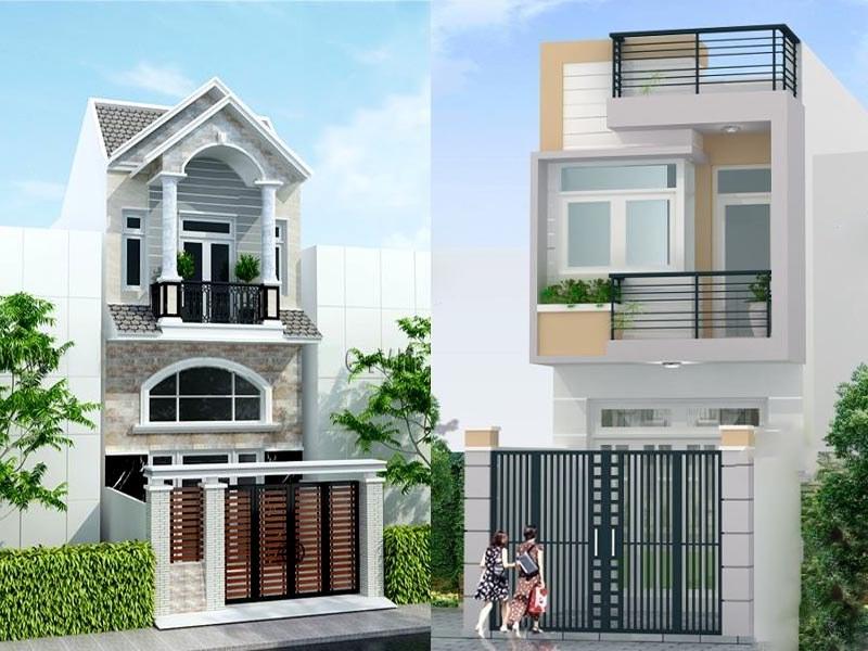 Thiết kế nhà 2 tầng cho phép bố trí công năng dễ dàng
