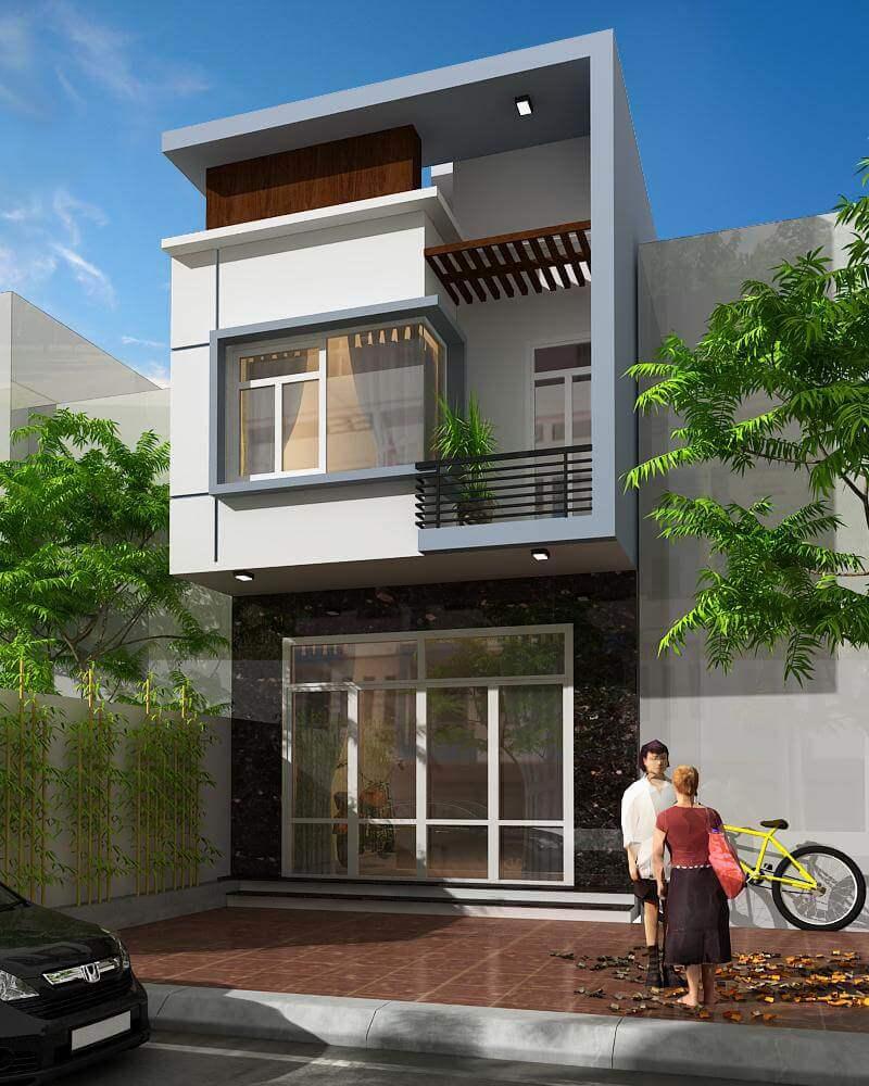 Những thiết kế nhà 2 tầng được đánh giá cao trong phong thủy