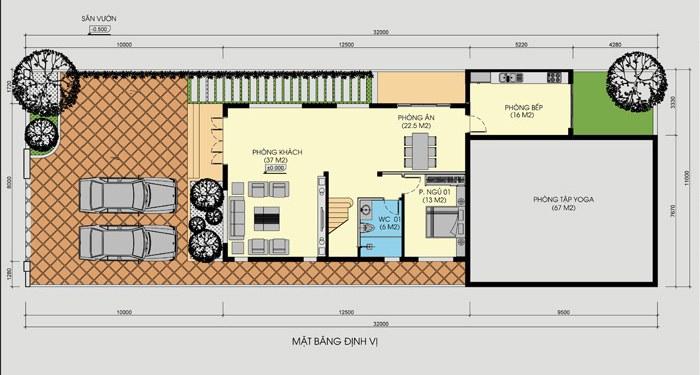 mẫu nhà 3 tầng 5 phòng ngủ