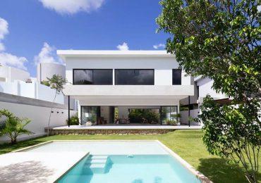 Thiết kế nhà với sân vườn đẹp lung linh