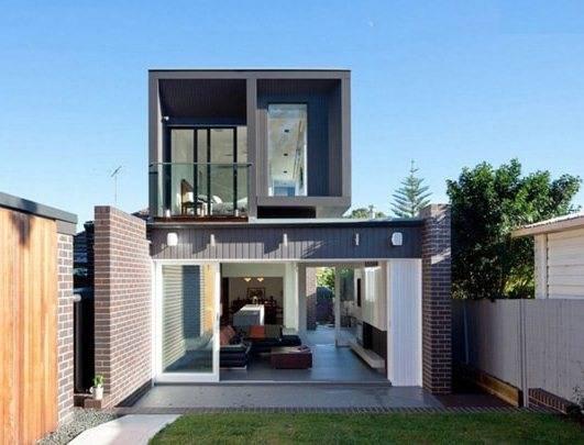 Ngôi nhà được thiết kế theo lối kiến trúc mở