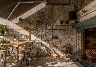 Thiết kế quán cafe phong cách rustic với không gian xanh, mộc mạc gần gũi với thiên nhiên