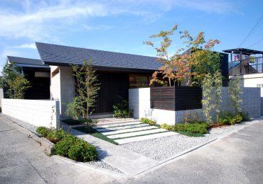 Nhà cấp 4 sân vườn phong cách Nhật Bản là sự kết hợp hài hòa giữa kiến trúc và tiểu cảnh sân vườn