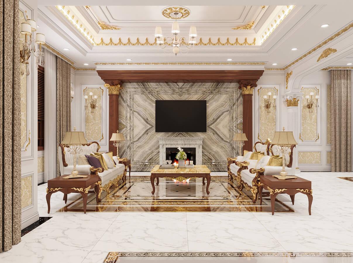 Thết kế nội thất phòng khách