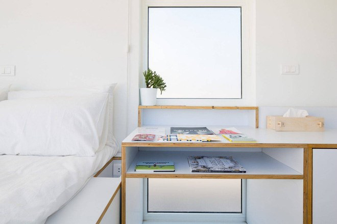 Thiết kế bàn làm việc đơn giản nhưng thông minh