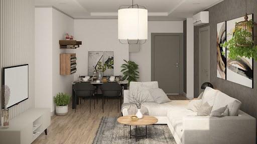 thiết kế nội thất chung cư 78m2