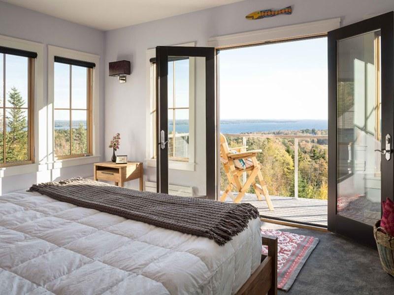 Thiết kế phòng ngủ không gian mở đảm bảo được tính hiện đại