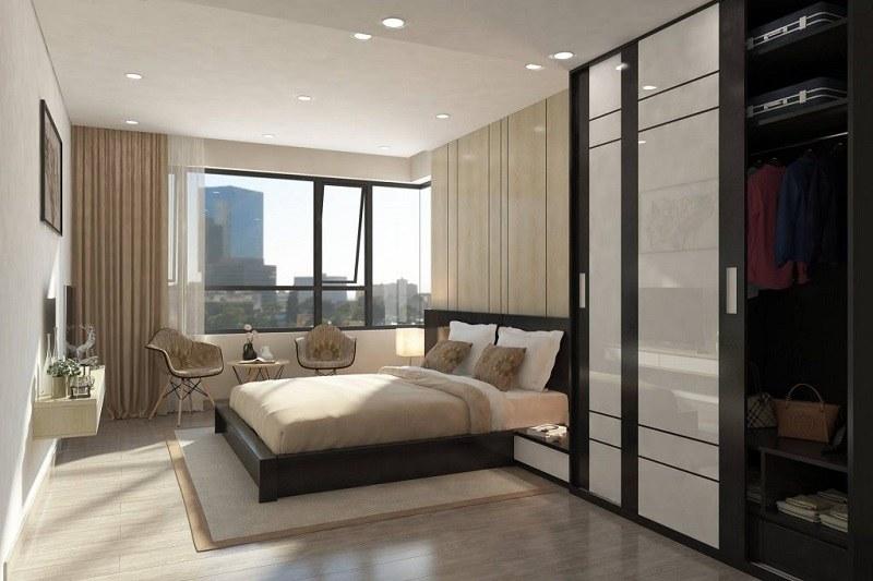 Phòng ngủ thiết kế độc đáo, ấn tượng