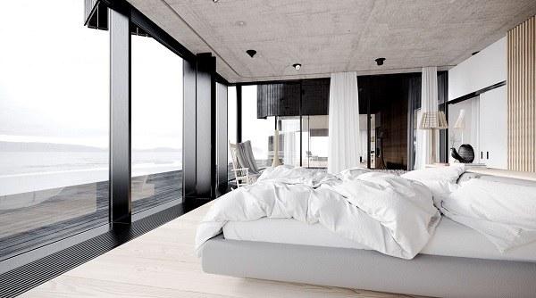Lựa chọn các món đồ có kích thước phù hợp cho thiết kế phòng ngủ không gian mở