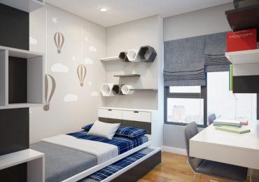 Thiết kế phòng ngủ thông minh cho diện tích nhỏ