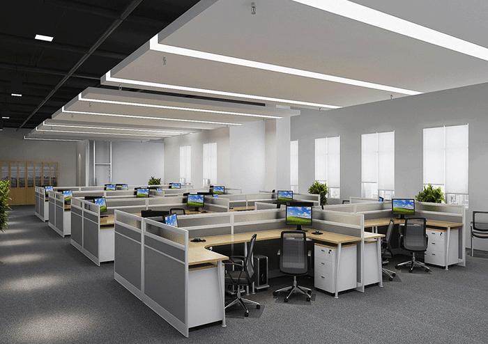 Thiết kế văn phòng mở làm cho doanh nghiệp tiết kiệm được một khoản chi phí đáng kể trong xây dựng