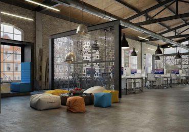 Bàn ghế làm việc được thiết kế để tối ưu hóa tính năng và tiết kiệm diện tích đáng kể cho văn phòng